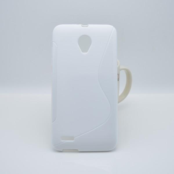 OEM S-line obal pro Vodafone Smart prime 6 - bílý