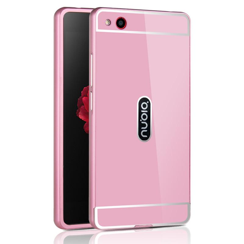 OEM Hliníkový kryt SHINY pro Lenovo S60 - Růžový
