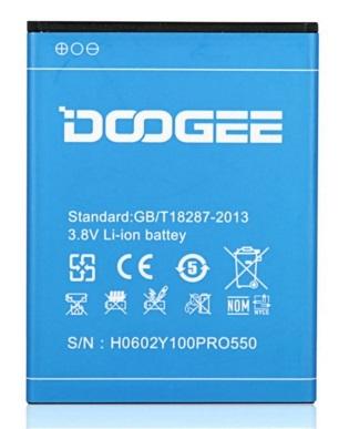 Baterie pro Doogee VALENCIA2 Y100 Pro 2200 mAh