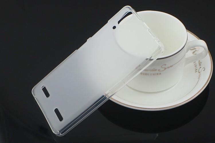 Silikonový obal pro Lenovo A6000 - Transparentní
