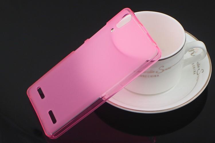 OEM Silikonový obal pro Lenovo A6000 - Růžový