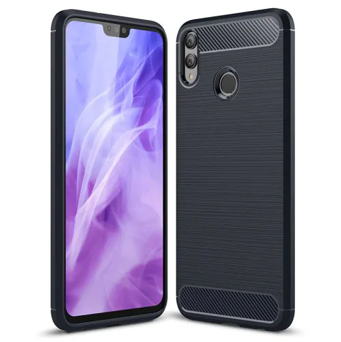 OEM Silikonový obal CARBON pro Huawei P40 lite E - černý