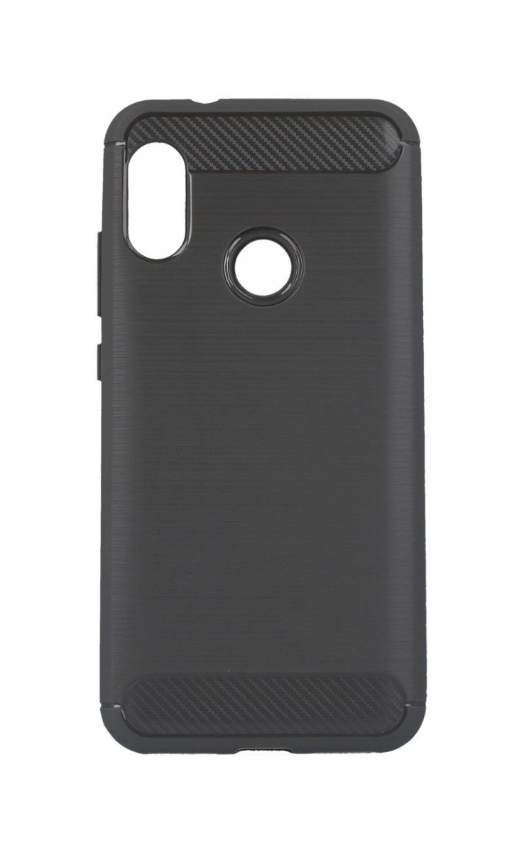 OEM Silikonový obal CARBON pro Huawei P10 lite - šedý