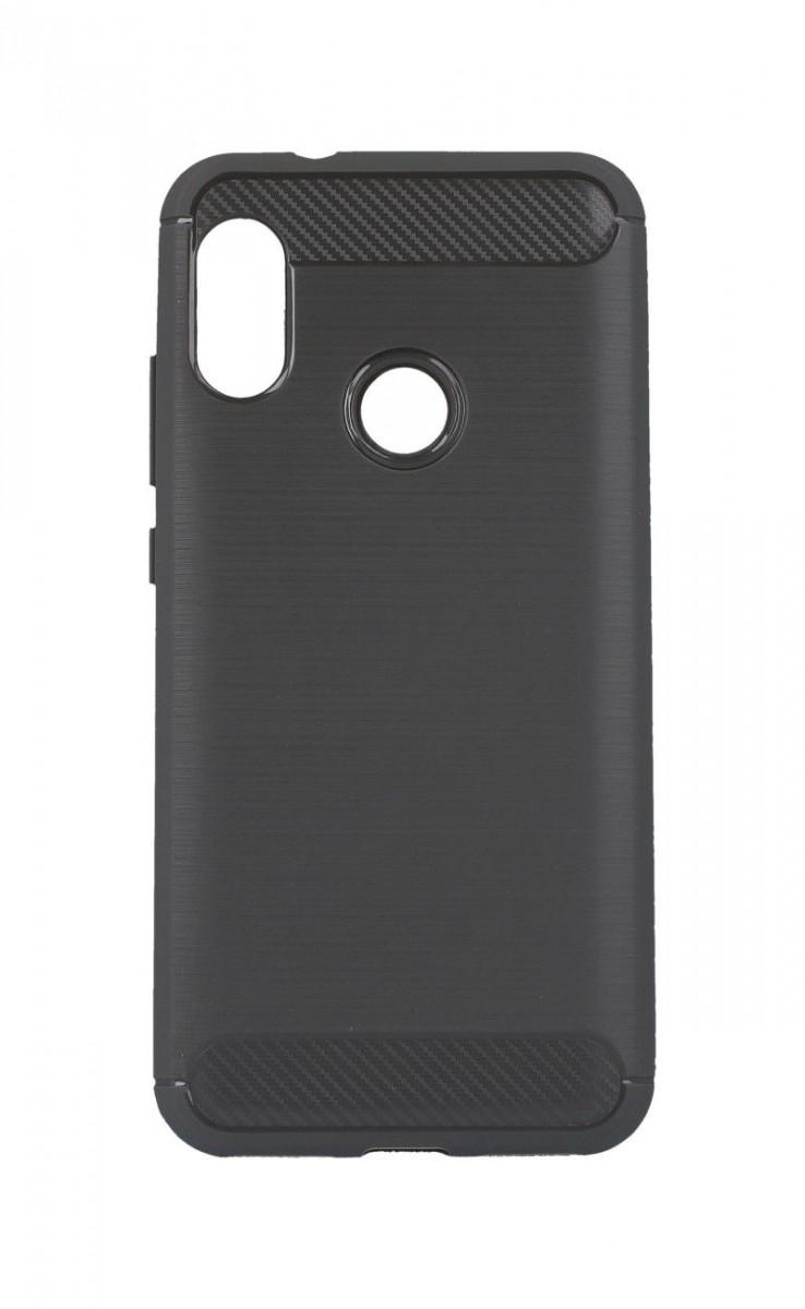 OEM Silikonový obal CARBON pro Huawei P20 lite - šedý