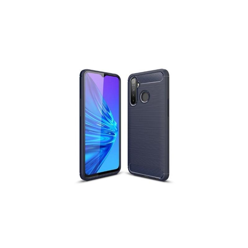 OEM Silikonový obal CARBON pro Huawei P8 lite 2017/ P9 lite 2017 - tmavě modrý