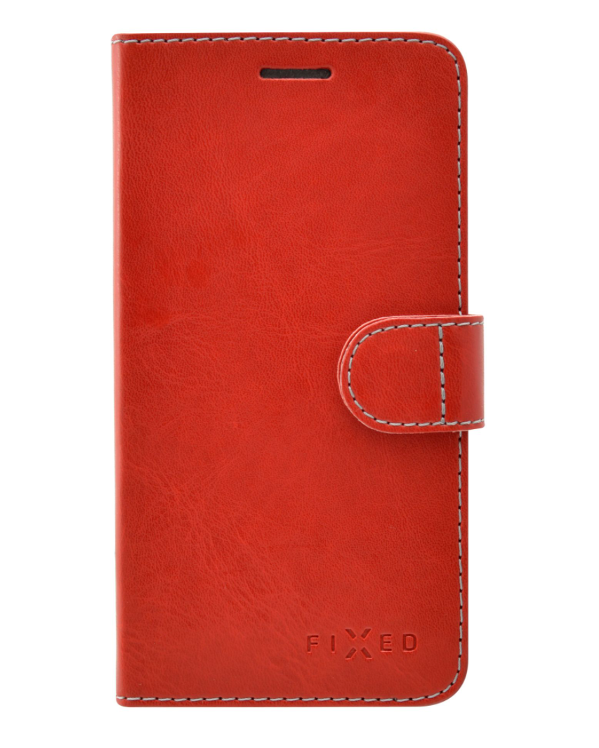 Pouzdro typu kniha FIXED FIT pro Honor 6A Pro - červené