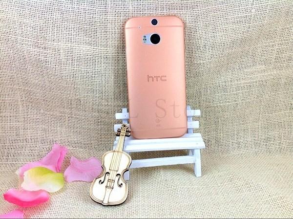 Ultratenký kryt pro HTC One 2 M8 - oranžový