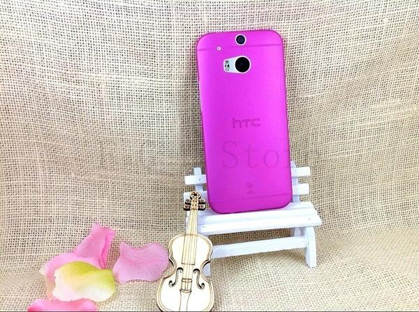 Ultratenký kryt pro HTC One 2 M8 - růžový