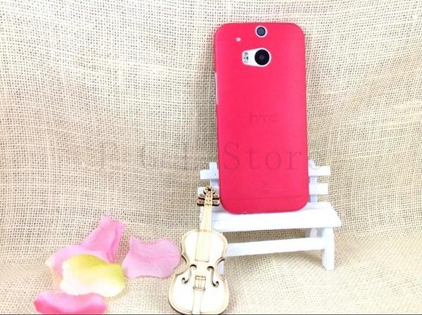 Ultratenký kryt pro HTC One 2 M8 - červený
