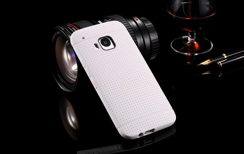 Odolný silikonový obal pro HTC ONE M9 - bílý