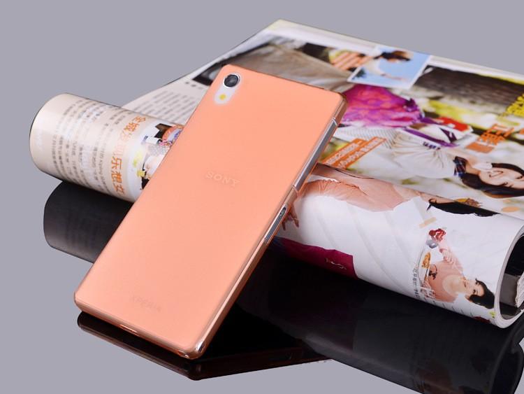 Ultratenký kryt pro Sony Xperia Z2 - oranžový