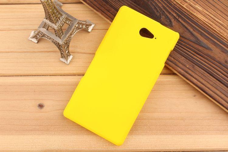 Luxusní kryt pro Sony Xperia M2 Aqua - žlutý