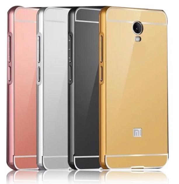 Kcatoon Hliníkový kryt MIRROR pro Asus Zenfone 4 Selfie ZD553KL - Zlatý