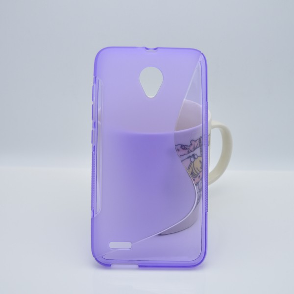OEM S-line obal pro Vodafone Smart prime 6 - fialový
