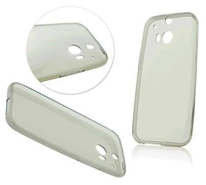 UNICORNO Silikonový obal Back Case Ultra Slim 0,3mm pro HTC U ULTRA - transparentní
