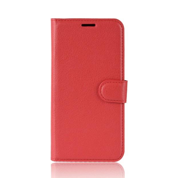 MODAZONGYE Kožené pouzdro CLASSIC pro Vodafone Smart X9 - červené