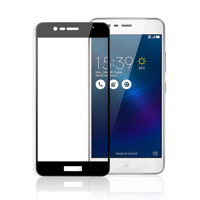 OEM Full-Cover 3D tvrzené sklo pro Asus Zenfone 4 Selfie ZD553KL - černé
