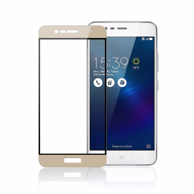 OEM Full-Cover 3D tvrzené sklo pro Asus Zenfone 4 Selfie ZD553KL - zlaté