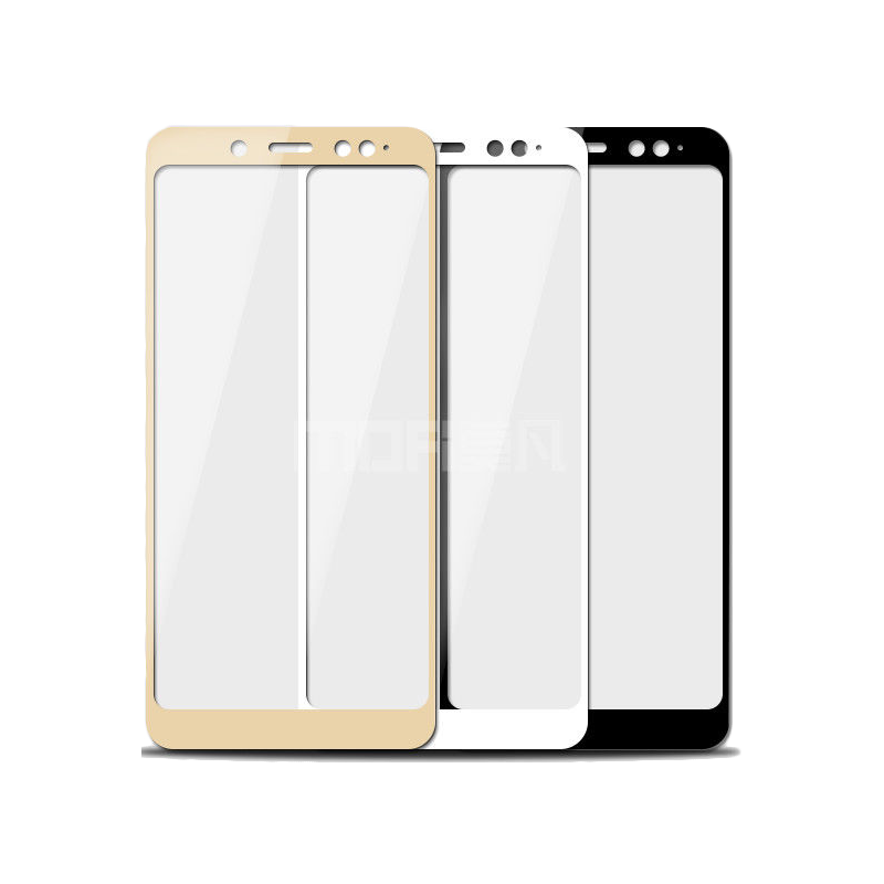 Full-Cover 3D tvrzené sklo pro Honor 7A 5,45'' - zlaté