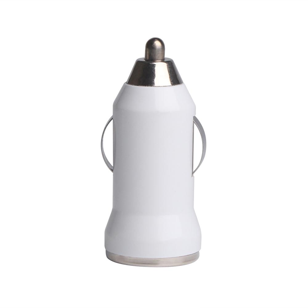 Colohas Mini USB nabíječka do auta - bílá