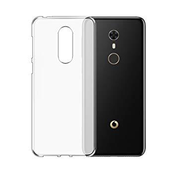 Silikonový obal pro Vodafone Smart N9 - transparentní