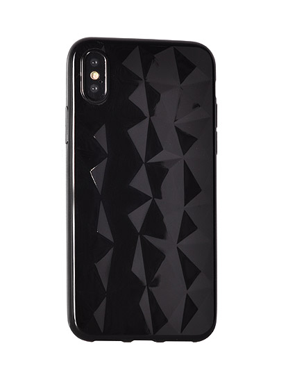 OEM Silikonový obal Prism Diamond pro HUAWEI MATE 20 LITE - černý