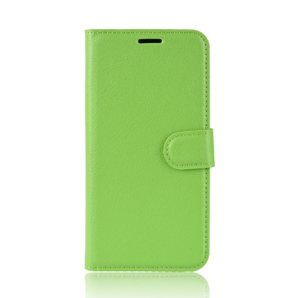 MUXMA Kožené pouzdro CLASSIC pro Vodafone Smart V8 - zelené