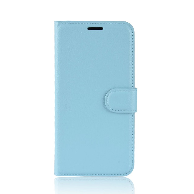 MUXMA Kožené pouzdro CLASSIC pro Vodafone Smart N8 - modré
