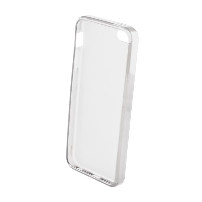 Levně OEM Silikonový obal Back Case Ultra Slim 0,3mm pro iPhone 5/ 5S - transparentní