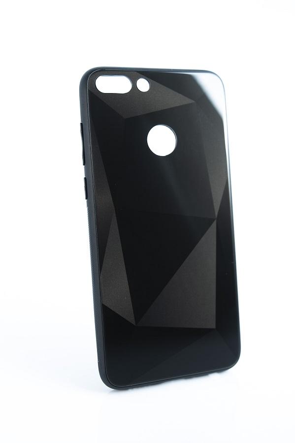 R2Invest Glass case 3D Diamond pro Huawei Mate 20 lite - černý