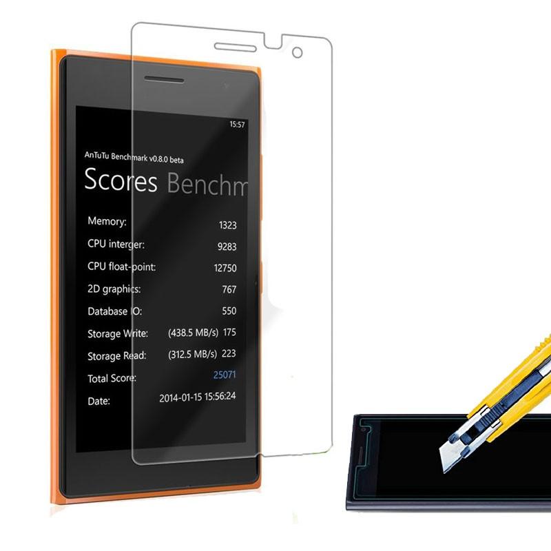 OEM Tvrzené sklo 2,5D pro Nokia Lumia 730 735