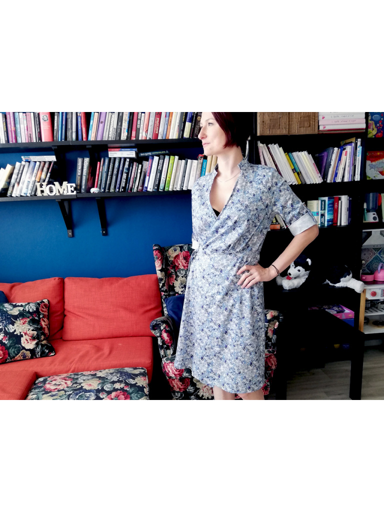 Dámské košilové šaty - Luční