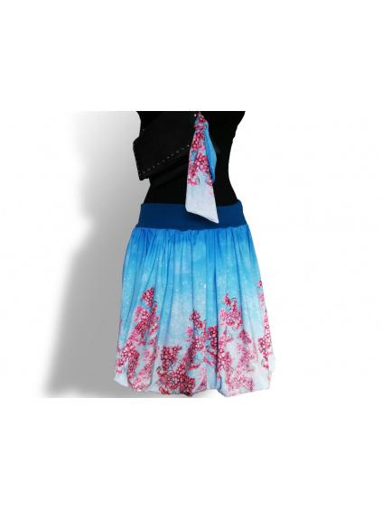 Dámská balónová sukně v autorském designu Mrazivé Jeřabiny