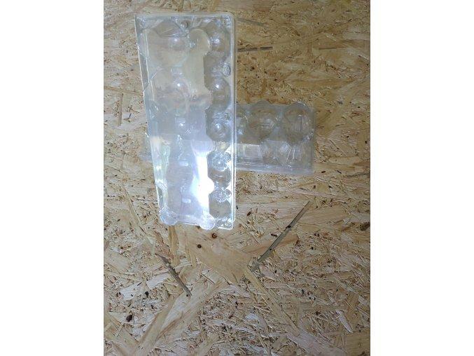 Plastový transportní obal na 10 ks slepičích vajec