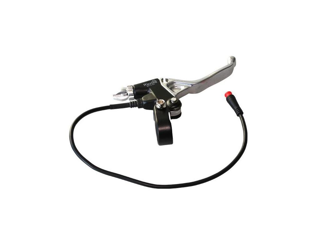 1Ksbrzdová páčka pro přímý pohon s odpojovačem pravá