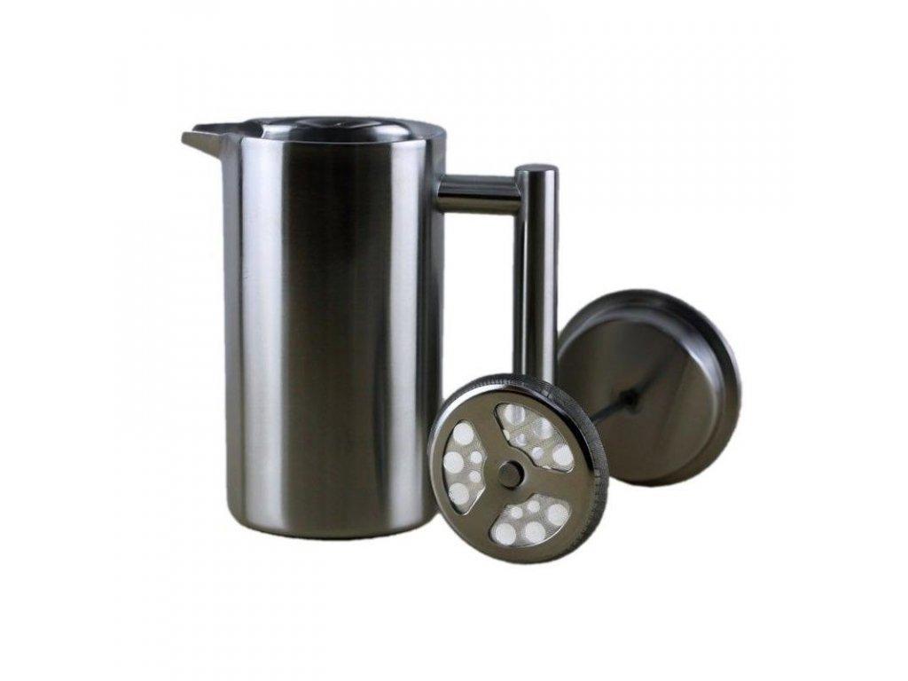 Nerezový frenchpress Kaffia - Silver