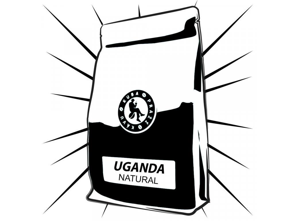 uganda NATURAL kuba prazi kavu