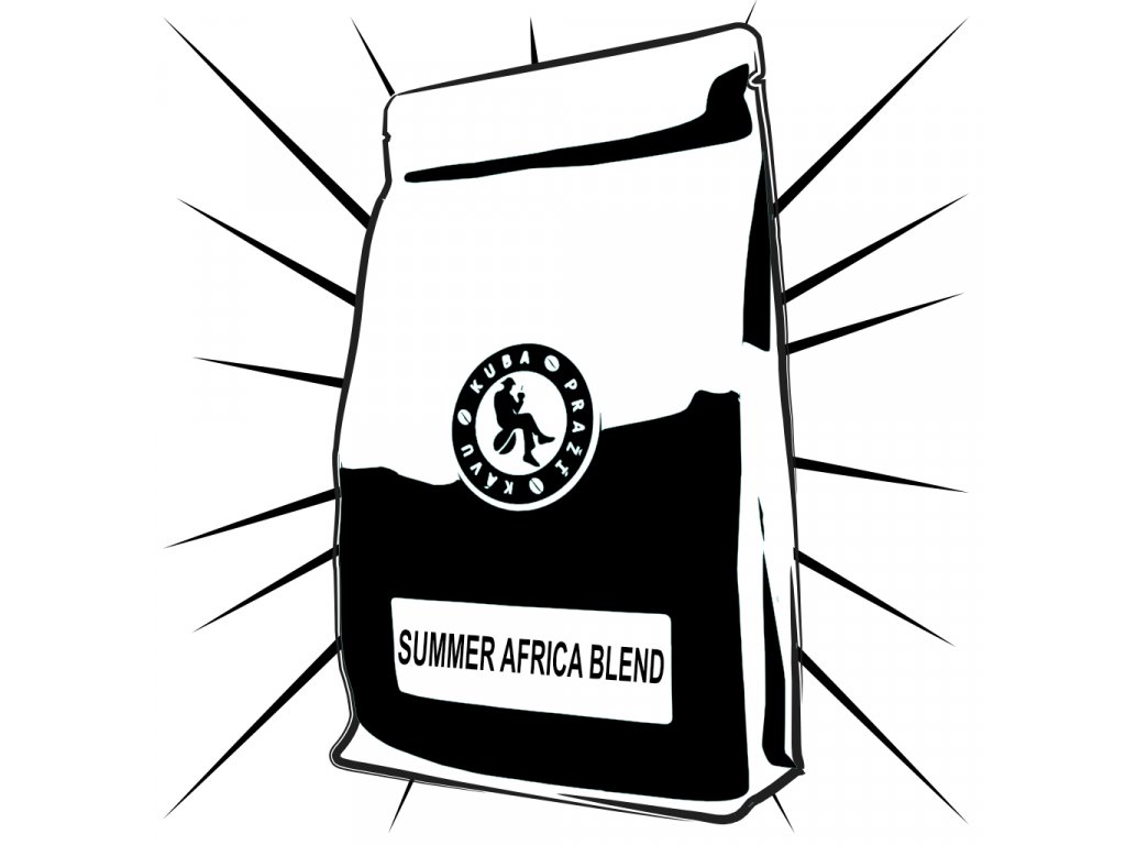 summer africa coffee kuba prazi kavu