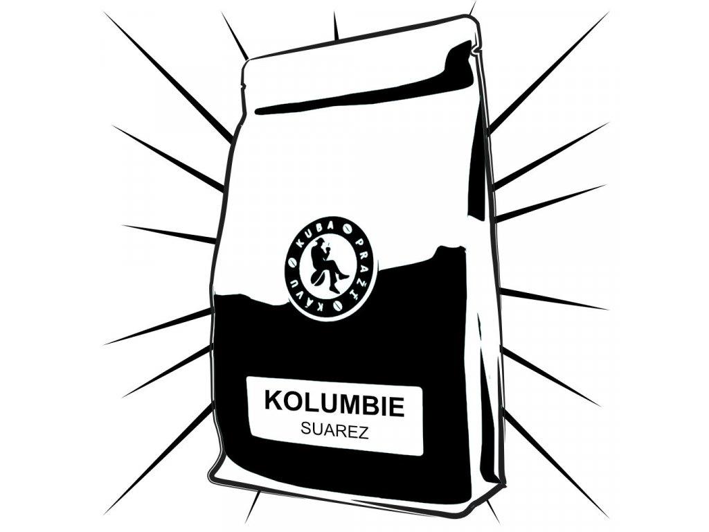 kolumbie suarez kuba prazi kavu