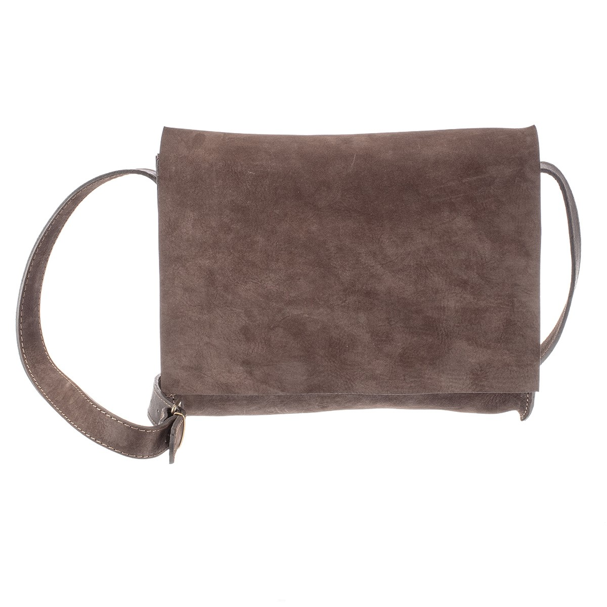 Česká dámská hnědá kožená kabelka Amálka - 576634-1