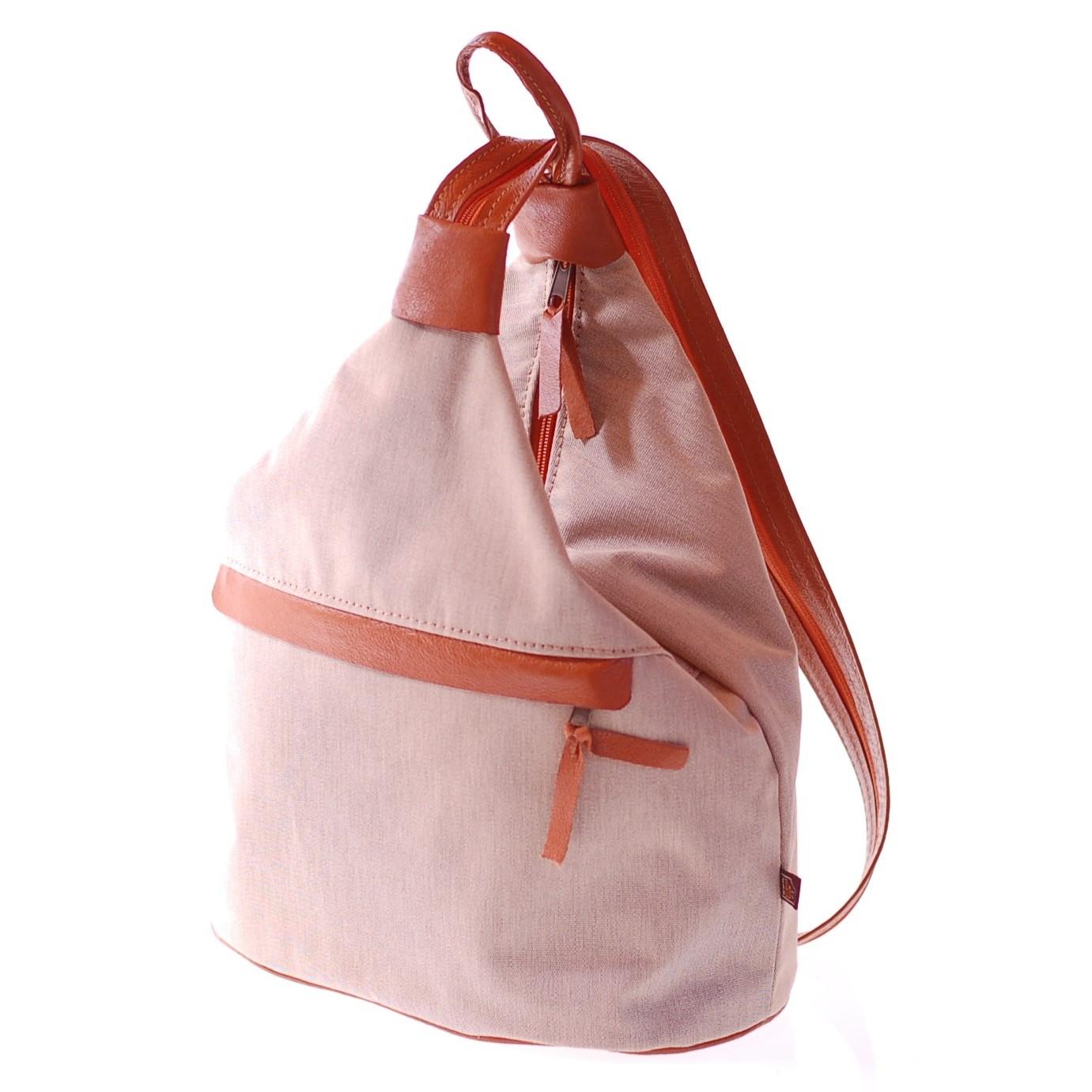 Dámská bílá kožená kabelka Amálka - 57674