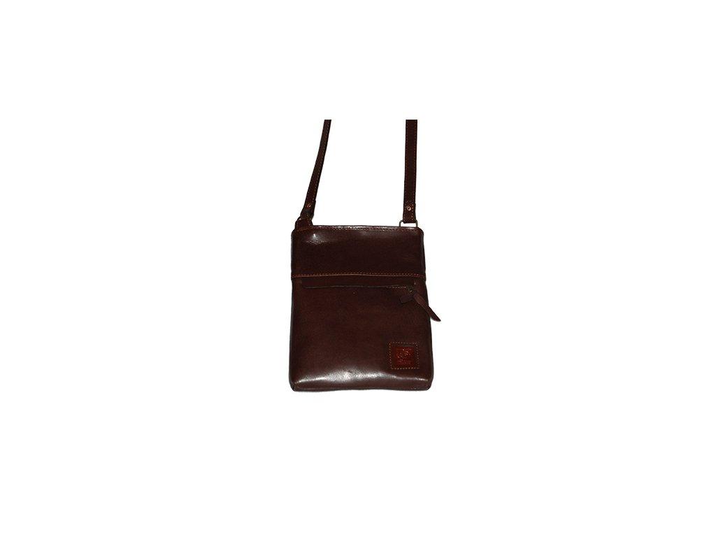 Kožená kabelka Heliman malý - 56924