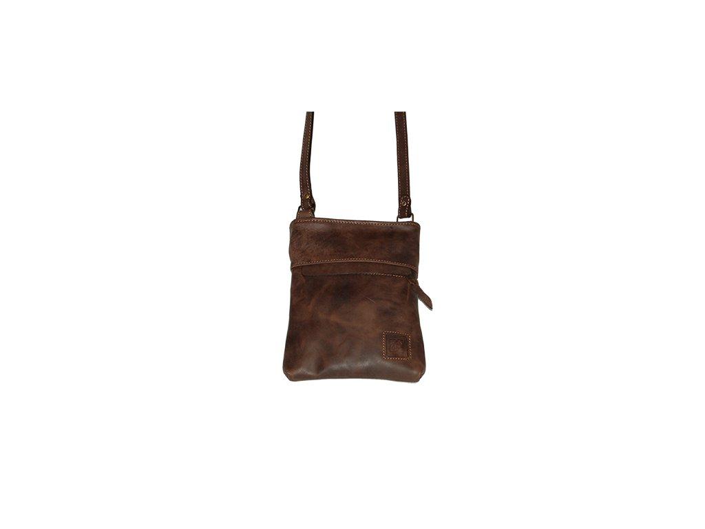 Kožená kabelka Heliman malý - 569332