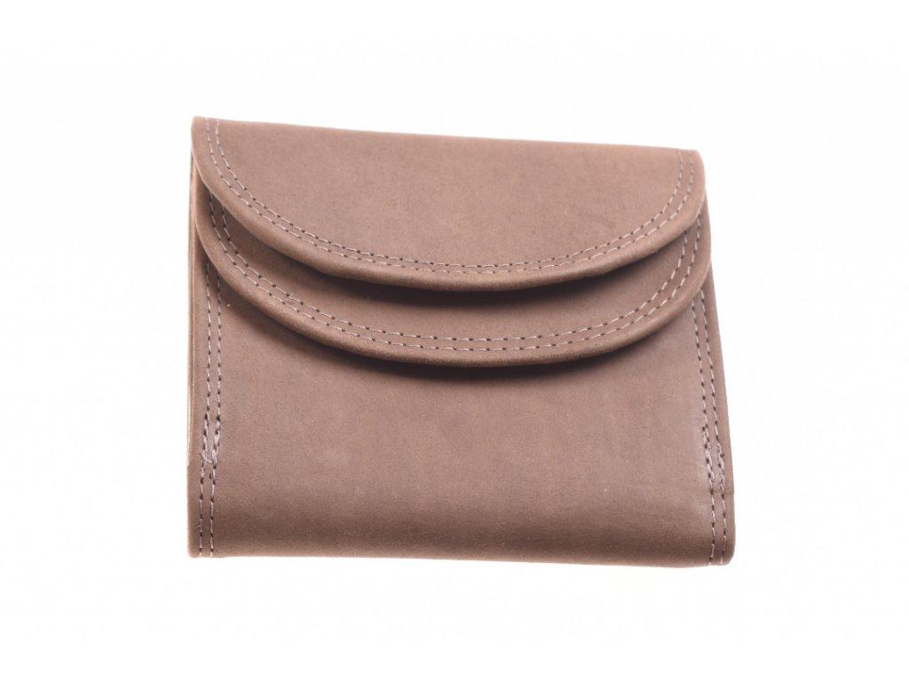 dámská pánská malá kožená peněženka 734433 1
