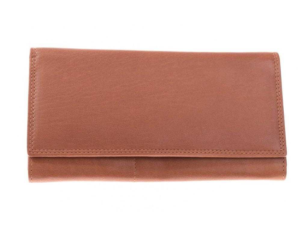 Dámská kožená hnědá peněženka 733692 1