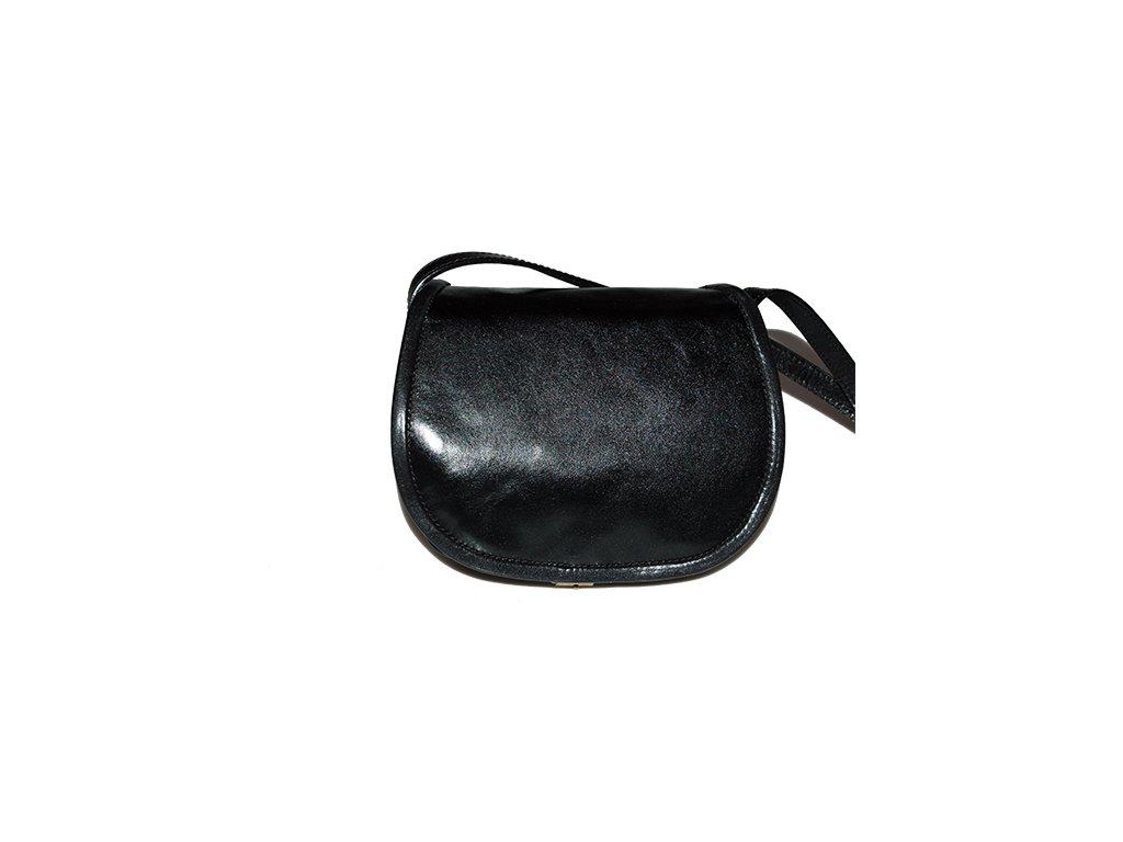 černá lovecká kabelka klasická dámská pánská český výrobek Kubát 12012