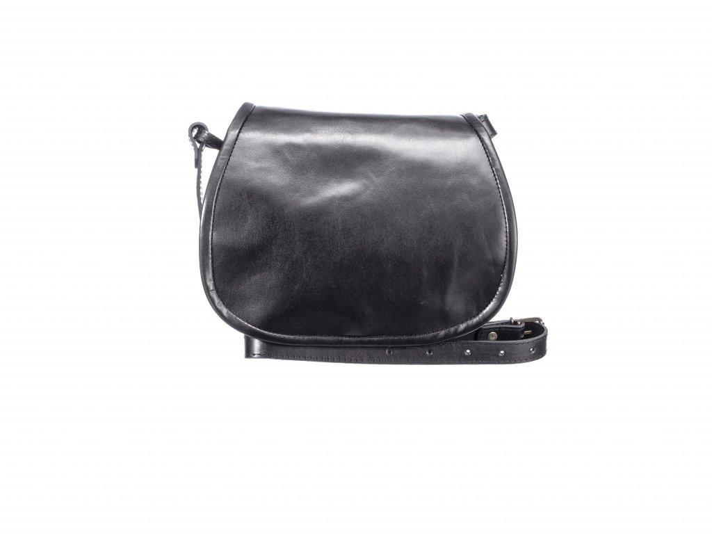 velká černá lovecká kabelka klasická dámská pánská český výrobek Kubát 13112