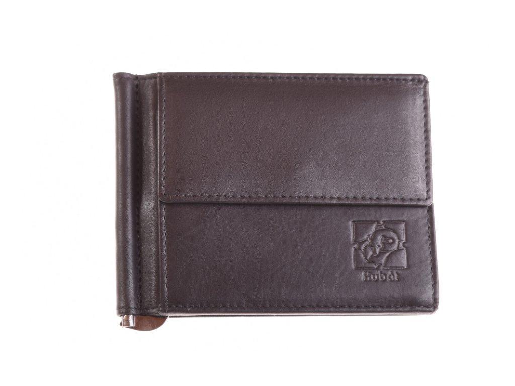 Kožená Dolarka peněženka černá 735912 1