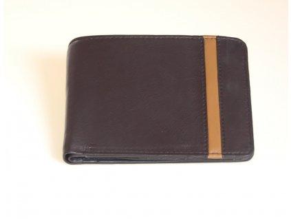 Pánská kožená černá peněženka 7473412 1