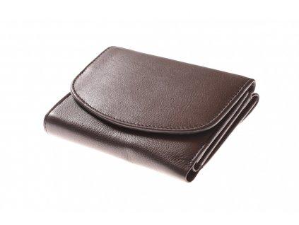 Dámská kožená peněženka kulatá klopa 750012 (4)